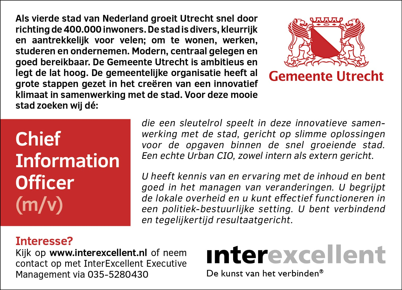 CIO gemeente Utrecht