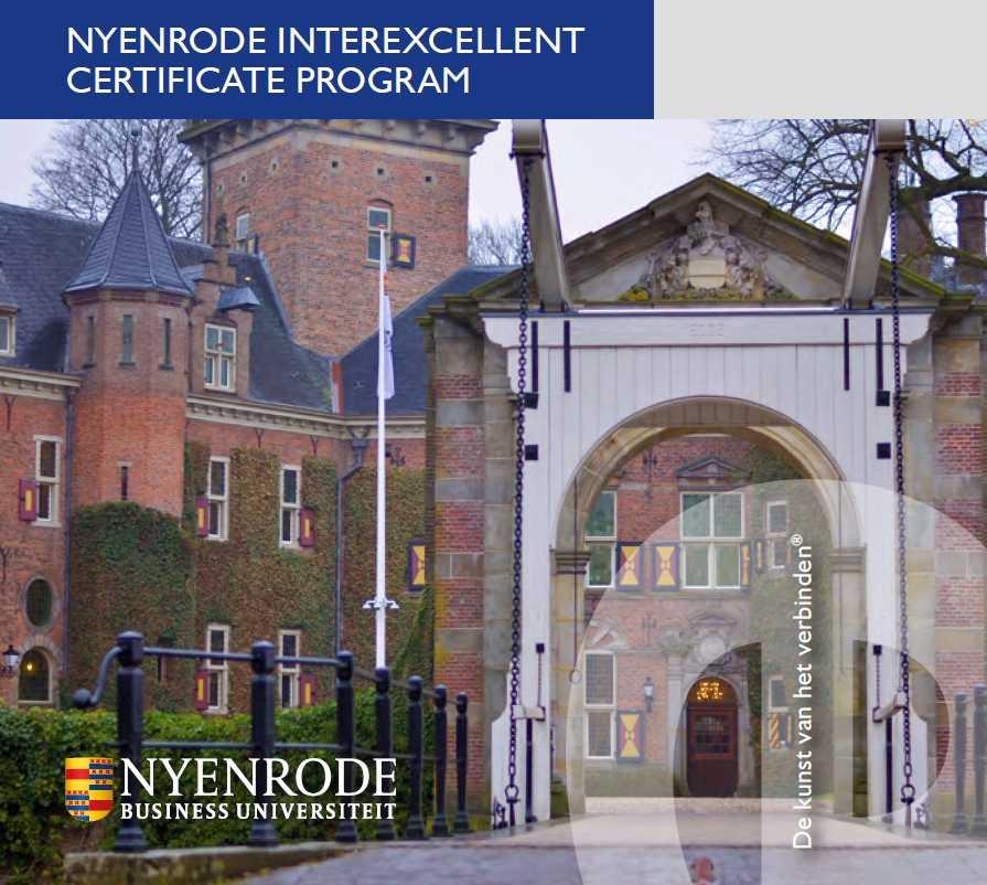 Felicitaties voor deelnemers die 6e Nyenrode-leergang IT Regie Management afsluiten